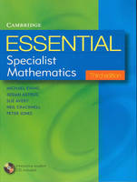 Essential Specialist Mathematics with Student CD-ROM by Michael Evans, Josian Astruc, Sue Avery, Neil Cracknell