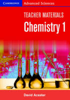 Teacher Materials Chemistry 1 CD-ROM by David Acaster