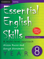 Essential English Skills Year 8 A Multi-level Approach by Alison Rucco, Sonya Stoneman