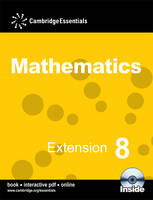 Cambridge Essentials Mathematics Extension 8 Pupil's Book with CD-ROM by Ricardo Pinmentel, Peter Ransom, Paul Rigby, Fiona McGill