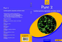 Pure 2 Co-ordinate Geometry, Trigonometry and Further Calculus by School Mathematics Project