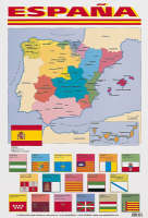 Espana (map of Spain) by Unknown