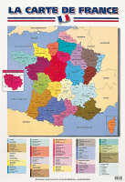 La Carte De France by Unknown
