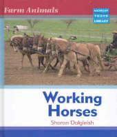 Farm Animals Horses Macmillan Library by Sharon Dalgleish