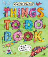 Jennie Maizels' Things to Do Book by Jennie Maizels