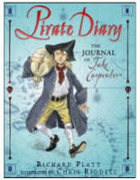 Pirate Diary The Journal of Jake Carpenter by Richard Platt