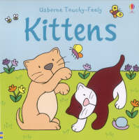 The Usborne Big Touchy Feely Book of Kittens by Fiona Watt, Rachel Wells