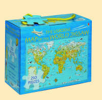 The Usborne Map of the World Jigsaw by Colin King