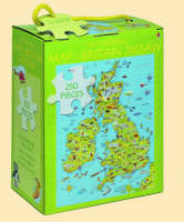 The Usborne Map of Britain Jigsaw by Colin King