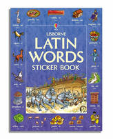 Latin Words Sticker Book by