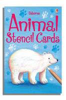 Animal Stencil Cards by