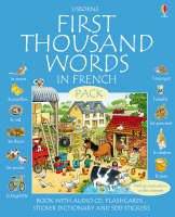 First 1000 Words Pack - French by Stephen Cartwright