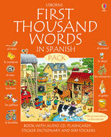 First 1000 Words Pack - Spanish by Stephen Cartwright