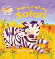 Mummy and Baby Safari Soft-to-Touch Jigsaws by Smriti Prasadam