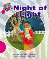 Spotty Zebra Pink B Ourselves - Night of Light (x6) by Claire Llewellyn