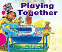 Spotty Zebra Pink B Ourselves - Playing Together (x6) by Jill Atkins