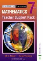 New National Framework Mathematics 7+ Teacher CD-ROM by K. M. Vickers, M. J. Tipler