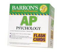 AP Psychology Flash Cards by Robert McEntarffer, Allyson J. Weseley