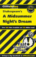 Shakespeare's A Midsummer Night's Dream by Cliffs Notes
