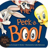Peek-a-Boo A Halloween Lift-the-Flap Book by Joseph R. Ritchie