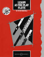 Learn as You Play Flute Tutor Book by Peter Wastall