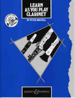 Learn as You Play Clarinet Tutor Book by Peter Wastall