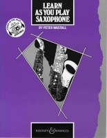 Learn as You Play Saxophone Tutor Book by Peter Wastall