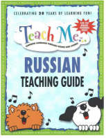 Teach Me Russian Teaching Guide Learning Language Through Songs and Stories by Judy Mahoney