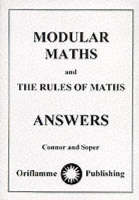 Modular Maths Answers by John Connor, Pat Soper