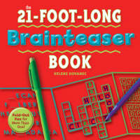 21-foot-long Brainteaser Book Fold-out Fun for More Than One! by Helene Hovanec