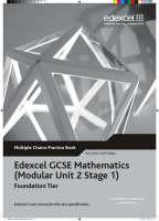 Edexcel GCSE Maths Modular Foundation Multiple Choice Pack by Peter Jolly, Graham Newman