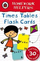 Ladybird Homework Helpers: Times Tables Flash Cards by