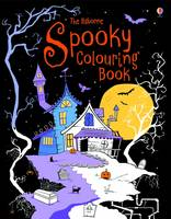 Spooky Colouring Book by Kirsteen Rogers