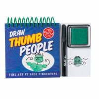 Draw Thumb People by Editors of Klutz