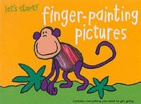 Let's Start: Finger Painting Pictures by