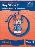 Key Stage 2 Literacy: Sentence Level Y5 Differentiated Activity Book by