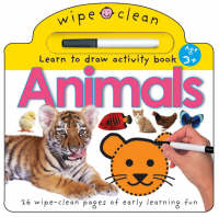 Wipe Clean - Animals by