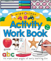 Wipe Clean Activity Work Book by
