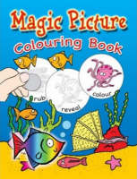 Seaside Magic Picture and Colouring Book by