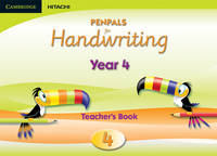 Penpals for Handwriting Year 4 Teacher's Book Enhanced Edition by Gill Budgell, Kate Ruttle