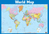 World Map Wall Chart by