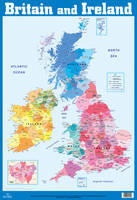 British Isles and Ireland Wall Chart by