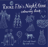 Rosie Flo's Night-time Colouring Book by Roz Streeten
