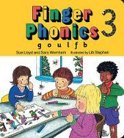 Finger Phonics g, o, u, l, f, b by Susan M. Lloyd, Sara Wernham