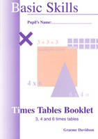 Times Tables Booklets by Graeme Davidson