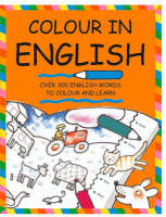 Colour in English by Catherine Bruzzone