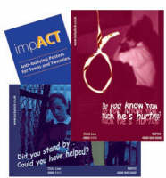 ImpACT Anti-bullying Posters for Teens and Twenties by Sarah Jones