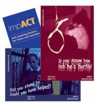 ImpACT Anti-bullying Posters for Teens and Twenties by Sarah Jones