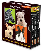 Baby Sees Spots and Dots, Flowers, Hearts and Stars by Chez Picthall