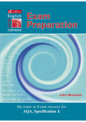Collins GCSE English and Literature - Exam Preparation Student's Book by John Mannion, Andrew Bennett